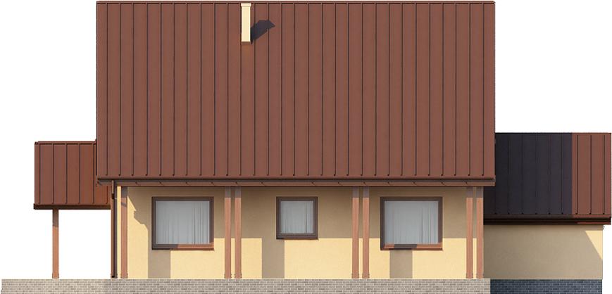Projekt domu DM-6388 - elewacja