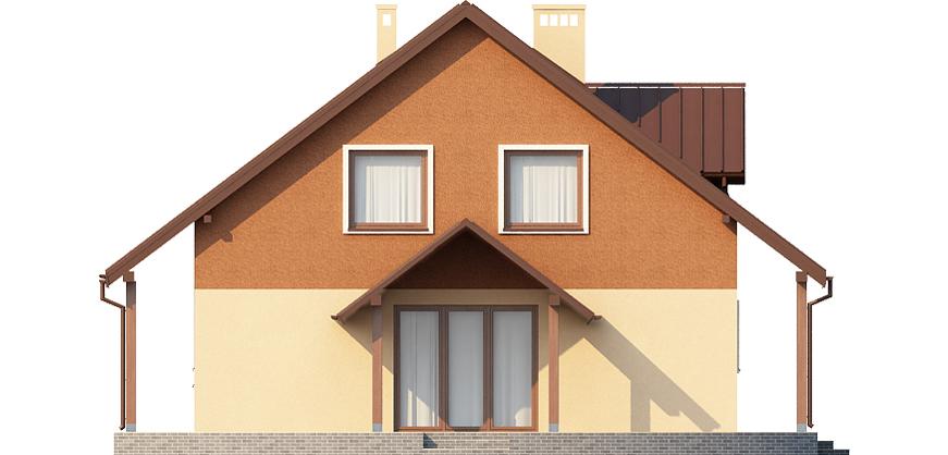 Projekt domu L-6388 - elewacja