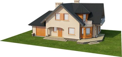 Projekt domu DM-6407 - model
