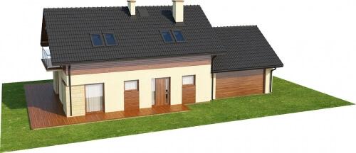 Projekt domu DM-6421 - model