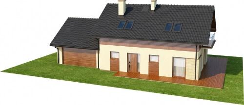 Projekt domu L-6421 - model