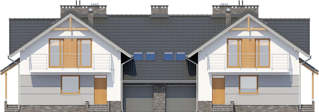Projekt domu DM-6422 - elewacja
