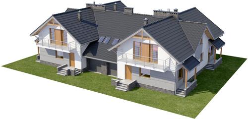 Projekt domu DM-6422 - model