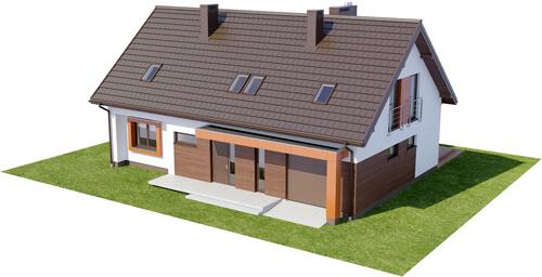 Projekt domu L-6411 - model