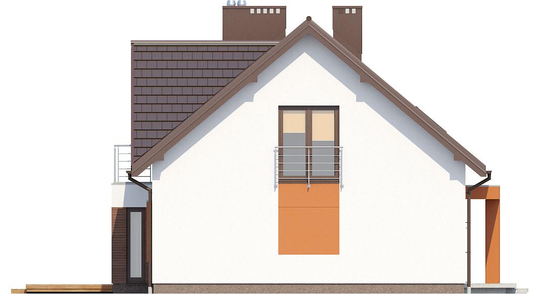 Projekt domu L-6411 - elewacja