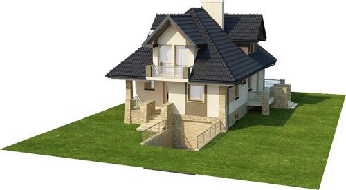 Projekt domu DM-6362 - model