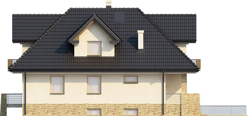 Projekt domu DM-6362 - elewacja