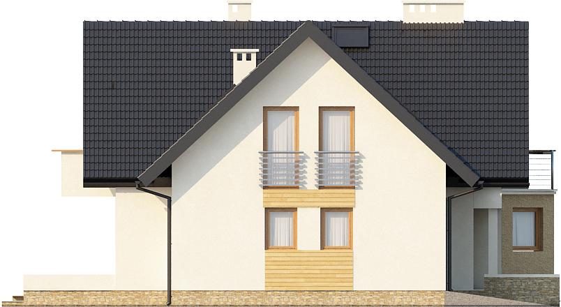 Projekt domu L-6405 - elewacja