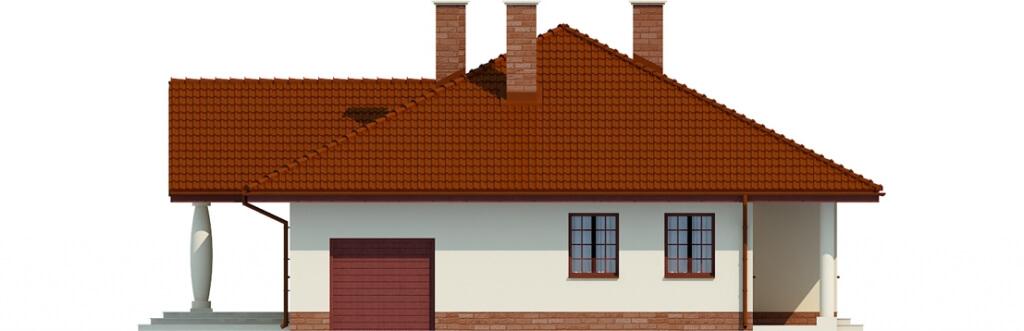 Projekt domu DM-6471 - elewacja
