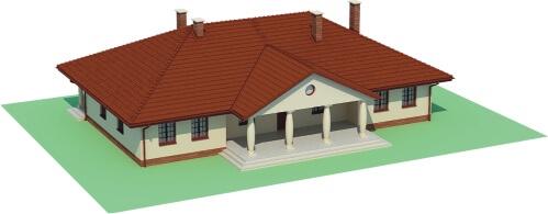 Projekt domu DM-6471 - model