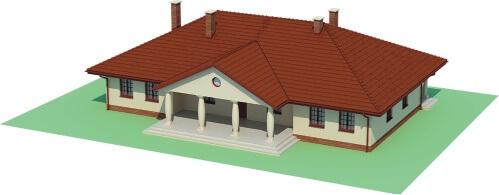 Projekt domu L-6471 - model