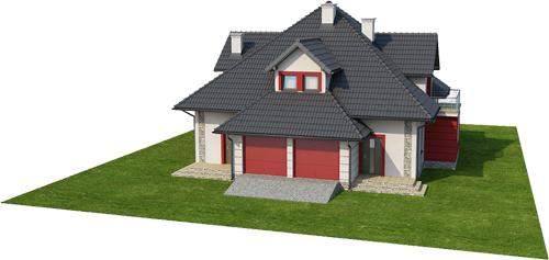 Projekt domu DM-6439 - model