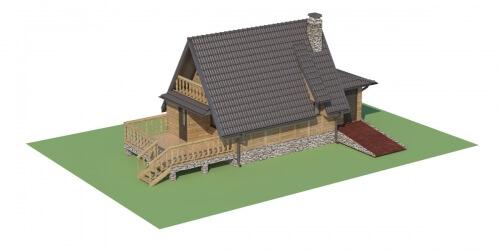 Projekt domu DM-6119 - model