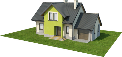 Projekt domu L-6434 - model