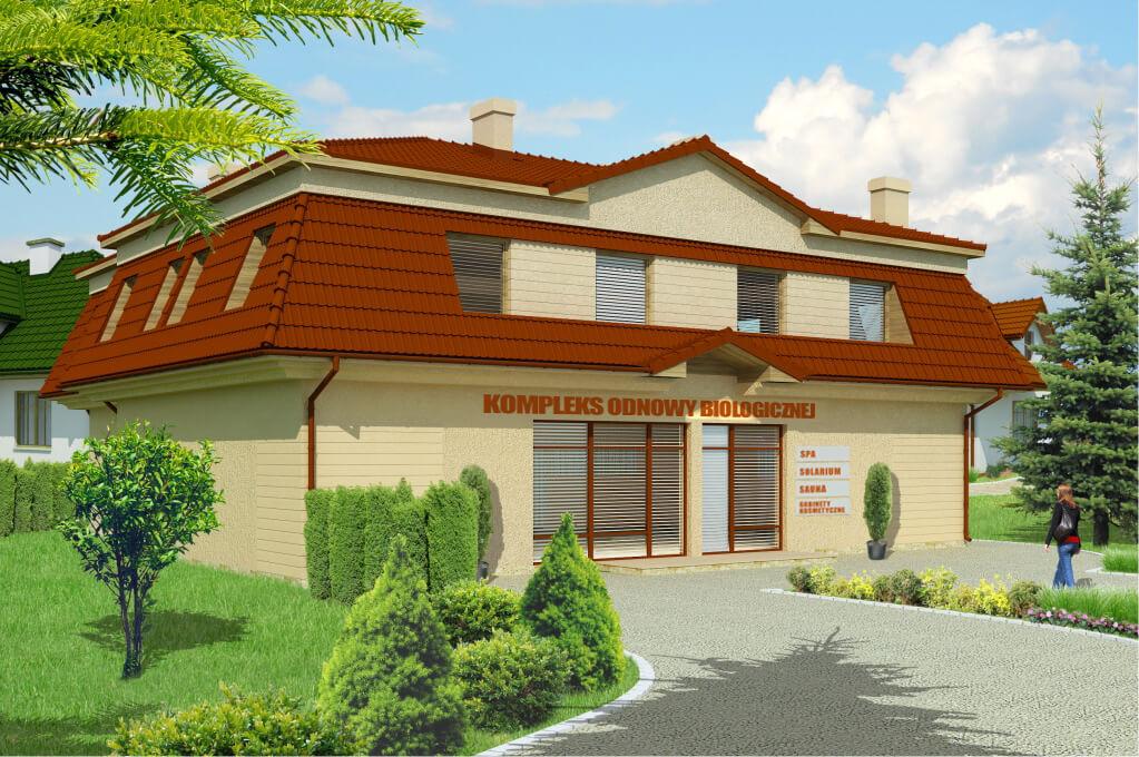 Projekt Salonu Odnowy Biologicznejbudynek Uslugowo Mieszkalny Lk