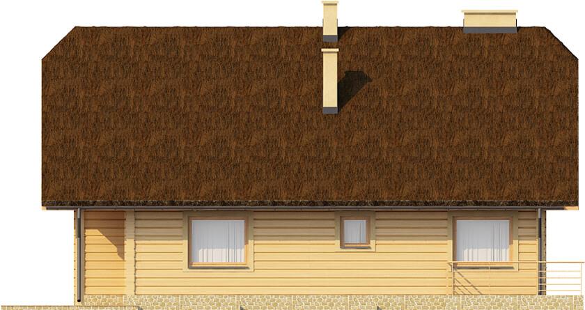 Projekt domu DM-6353 - elewacja
