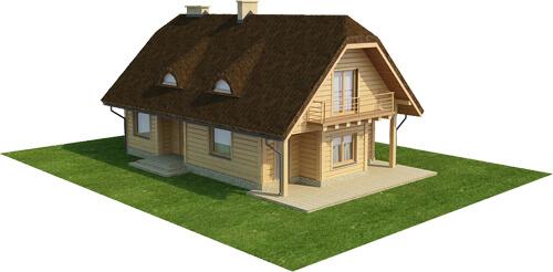 Projekt domu DM-6353 - model