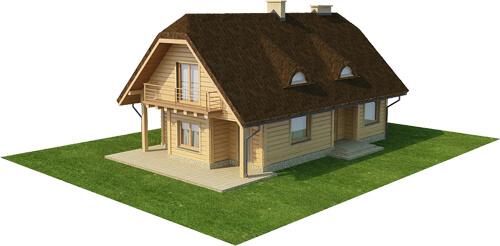 Projekt domu L-6353 - model