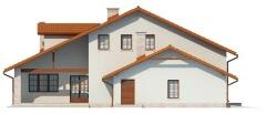 Projekt domu L-6400 - elewacja