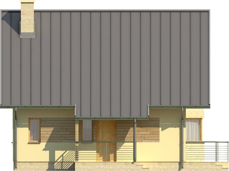 Projekt domu DM-6122 - elewacja