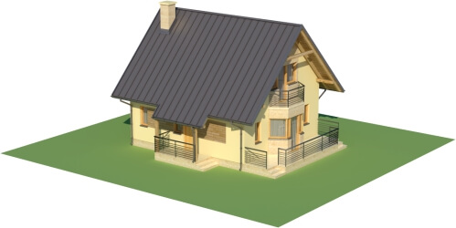 Projekt domu DM-6122 - model