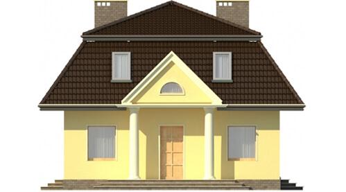 Projekt domu DM-5530 - elewacja