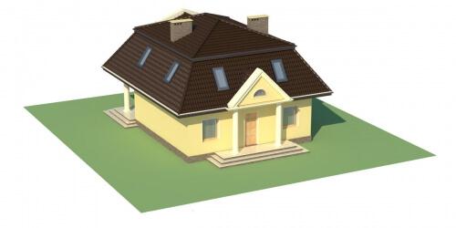 Projekt domu DM-5530 - model