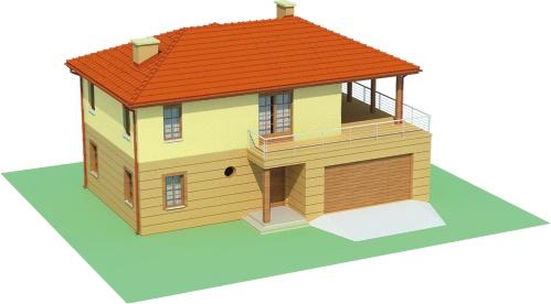 Projekt domu DM-6469 - model