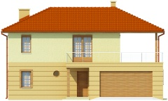 Projekt domu DM-6469 - elewacja