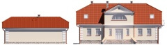 Projekt domu DM-6474 - elewacja