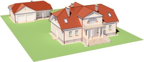 Projekt domu L-6474 - model