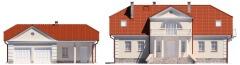 Projekt domu L-6474 - elewacja