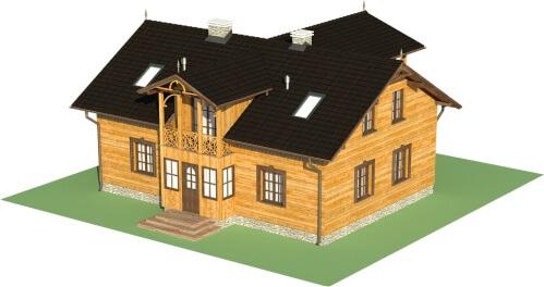 Projekt domu L-6480 - model