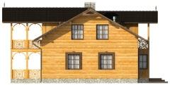 Projekt domu L-6480 - elewacja