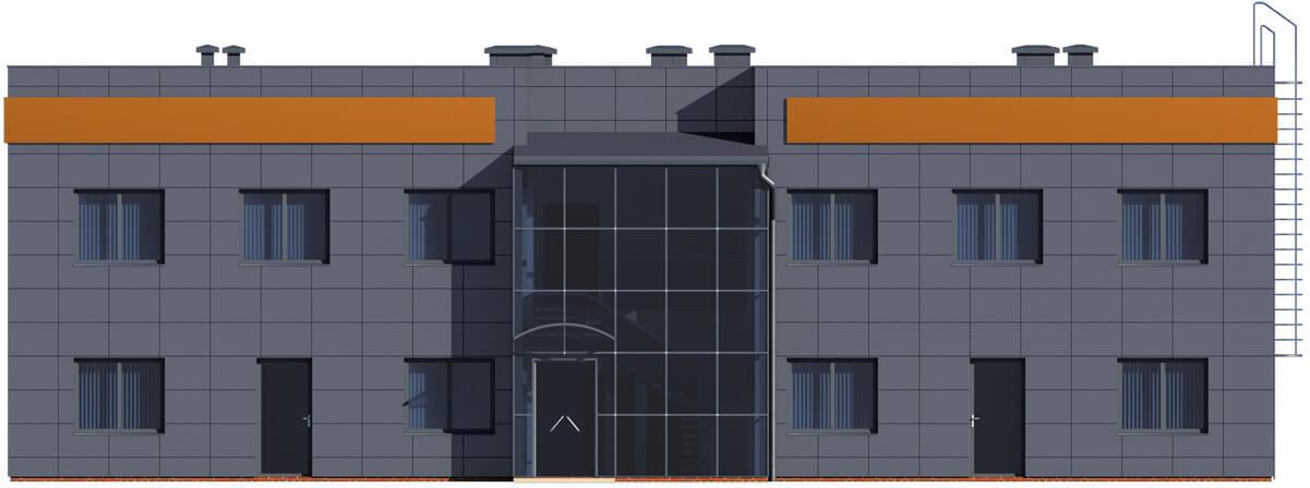 Projekt K-23 - elewacja