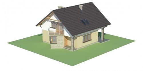 Projekt domu DM-6125 - model