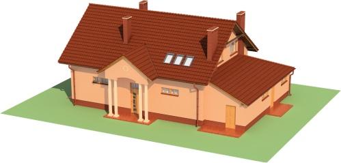 Projekt domu DM-6483 - model