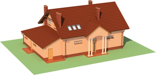 Projekt domu L-6483 - model