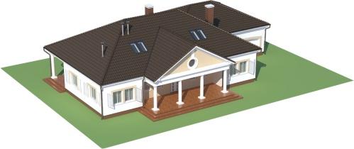 Projekt domu L-6484 - model