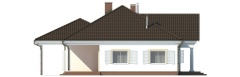 Projekt domu L-6484 - elewacja