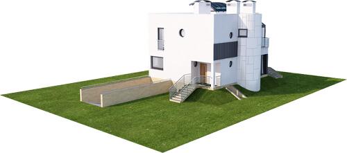 Projekt domu DM-6129 - model