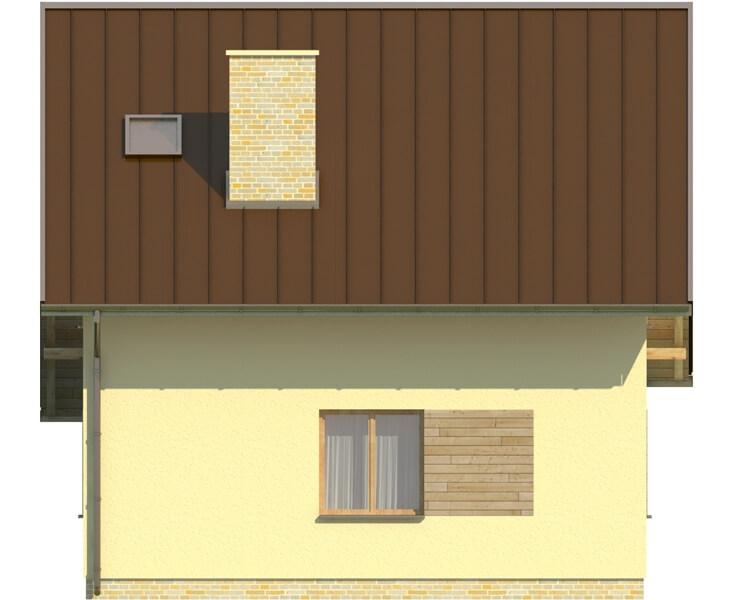 Projekt domu DM-6130 - elewacja