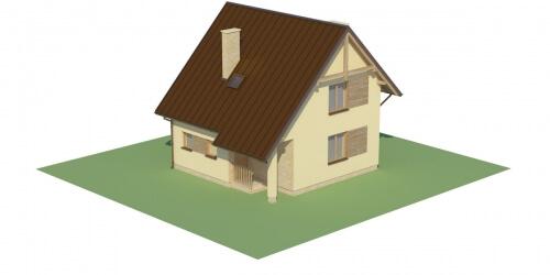 Projekt domu DM-6130 - model