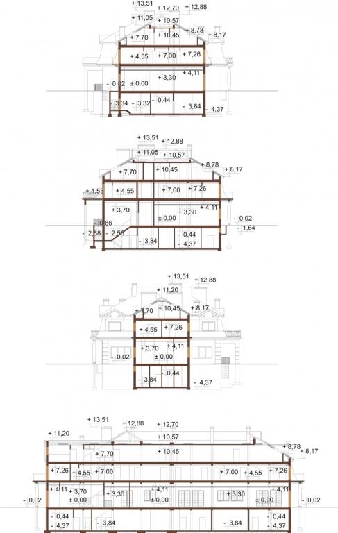 Projekt K-12 B - przekrój