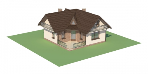 Projekt domu DM-6131 - model