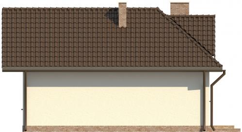 Projekt domu DM-6131 - elewacja