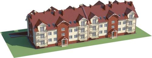 Projekt domu DM-6487 - model