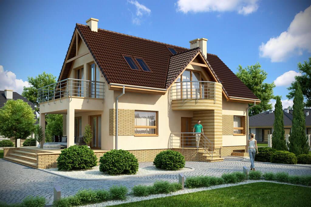 Дизайн одноэтажные дома