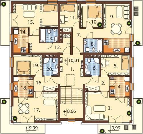 Rzut III piętra