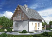 Projekt domu CZAJKÓW C